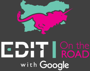 EDIT on the road logo