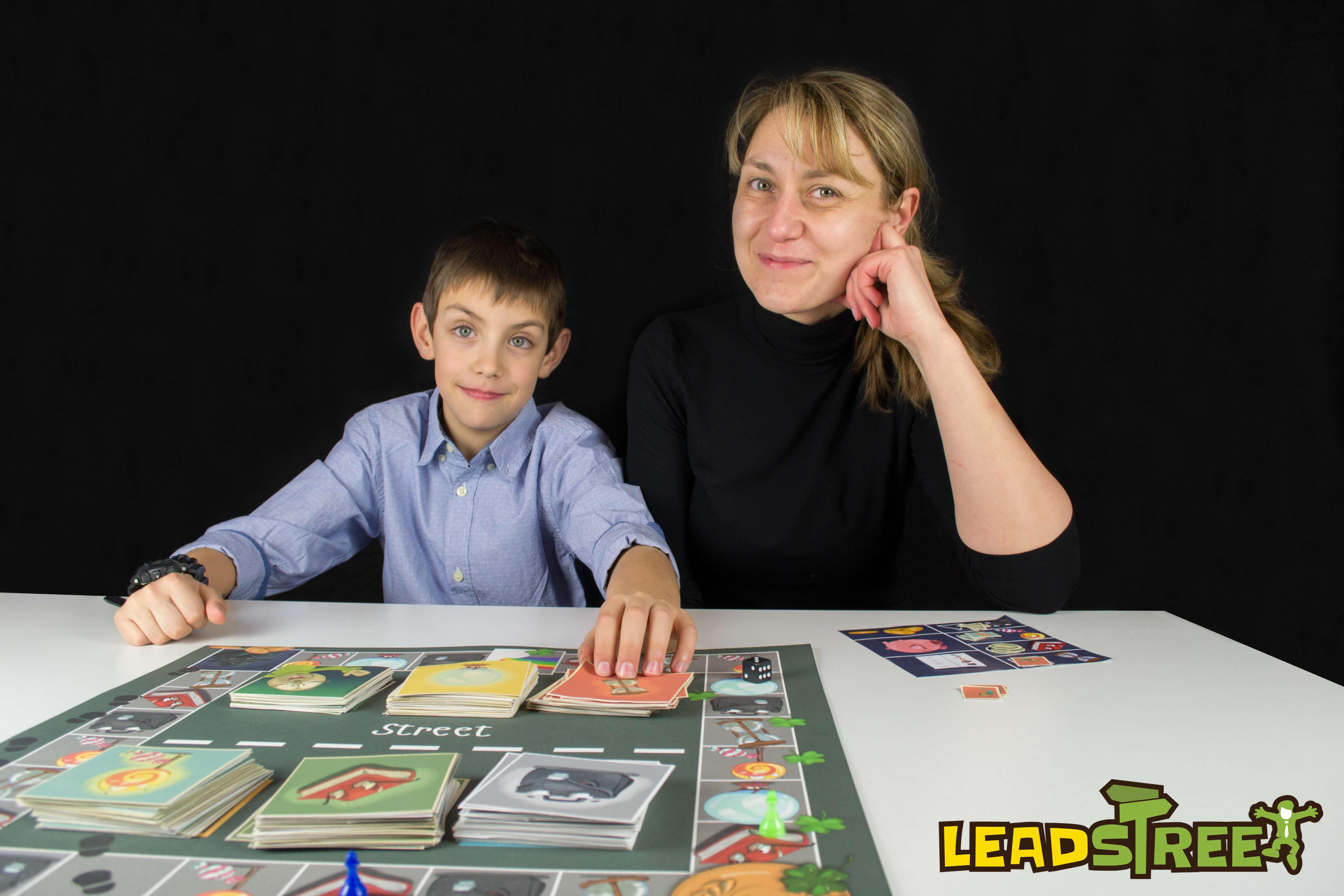 LeadersPlay настолна игра LeadStreet