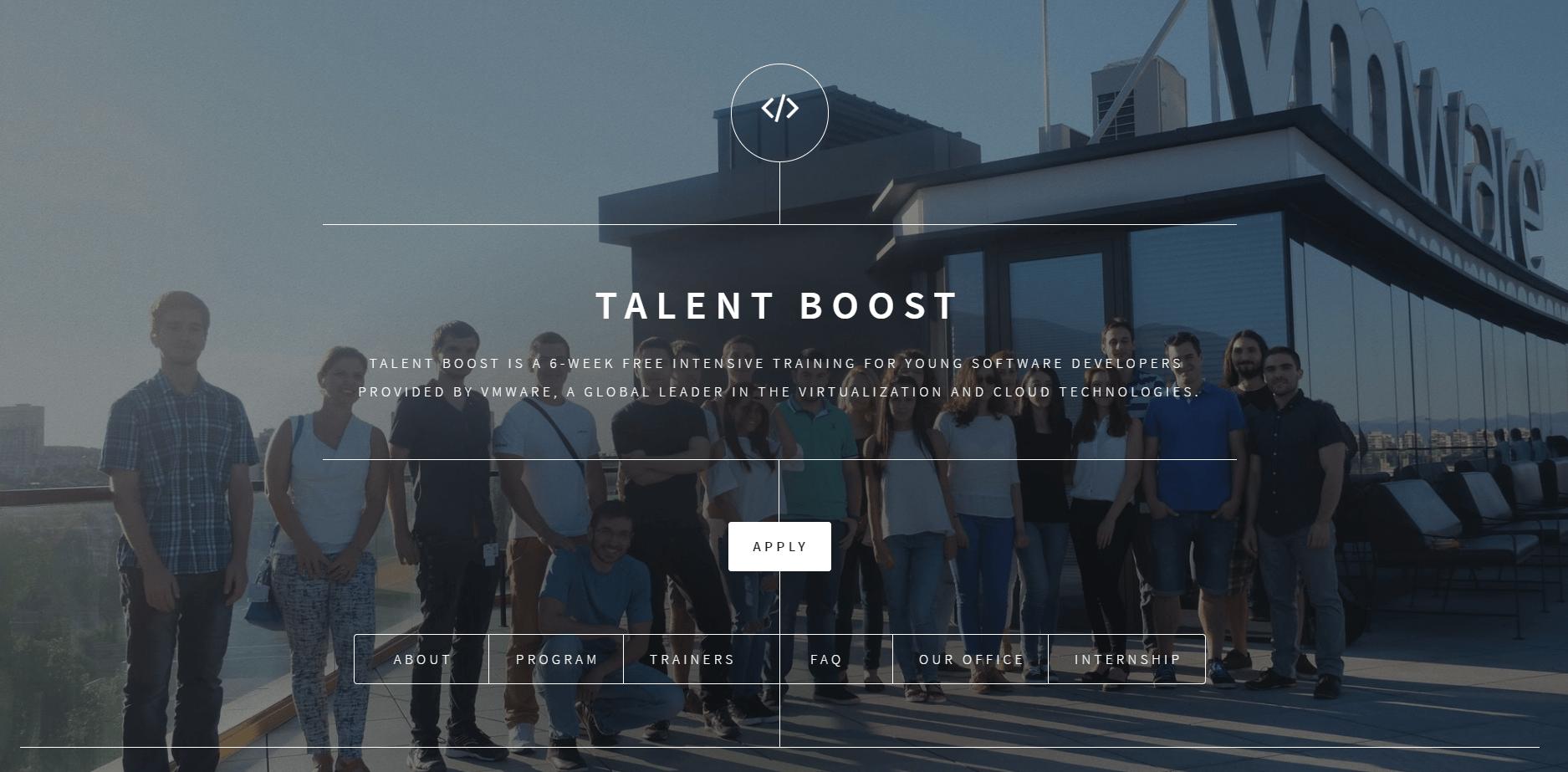 безплатното обучение Talent Boost