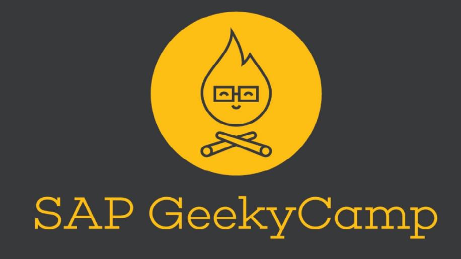 Предстои 4-тото издание на SAP GeekyCamp