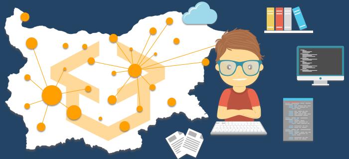 Курсовете по програмиране в 38 града