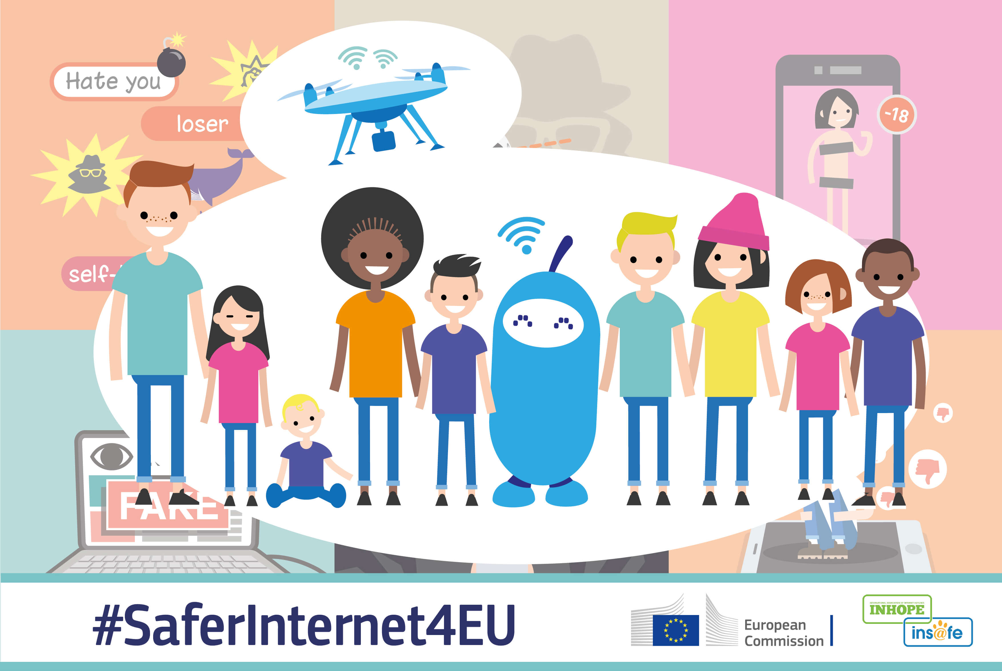 Конкурсът #SaferInternet4EU