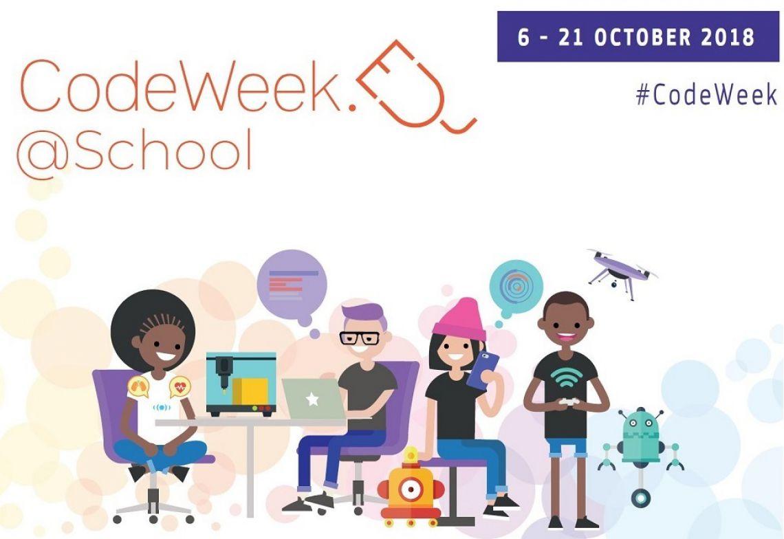 EU Code Week 2018 с покана към всички училища