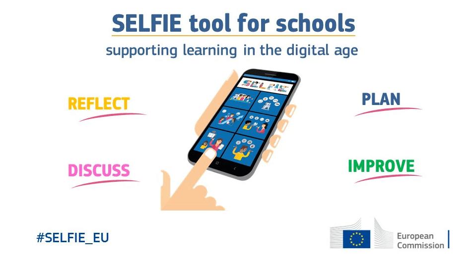 Инструментът SELFIE помага за повишаване на цифровите умения