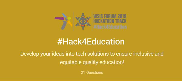 #Hack4Education в Женева отвори регистрацията на участници