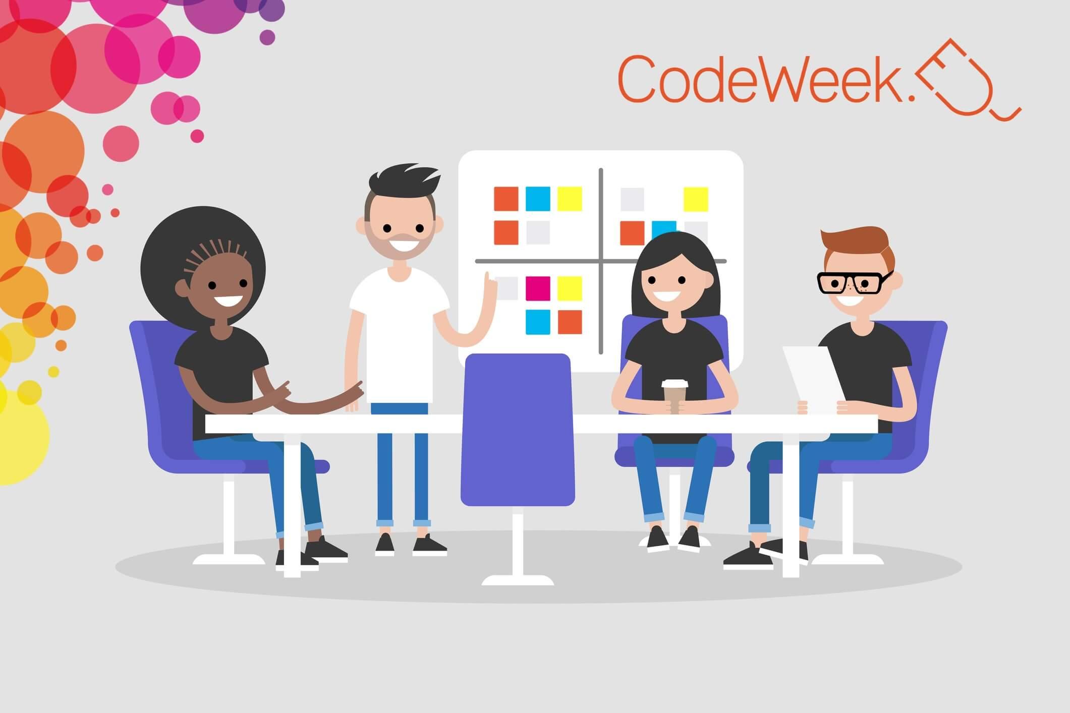 EU Code Week 2019 предоставя 3 безплатни курса за учители
