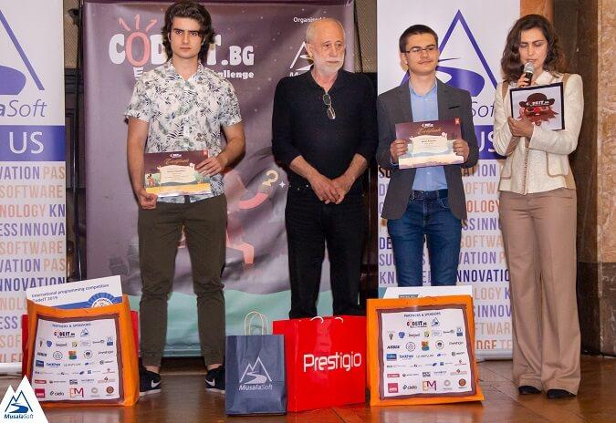 Двама CodeIT 2018-2019 победители във финала
