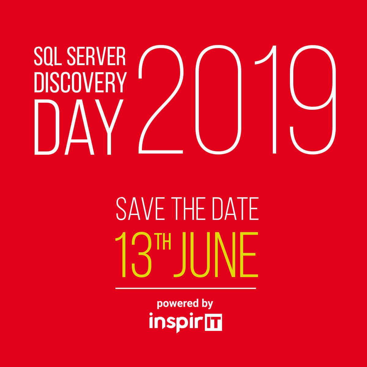 SQL Server 2019 Discovery Day ви очаква на 13 юни